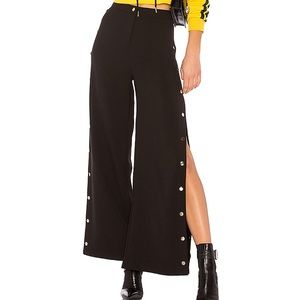 I AM GIA Kasumi large wide leg size snap pants